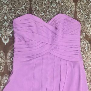 David's Bridal Dresses - David's Bridal Strapless Formal Dress Lilac size 2